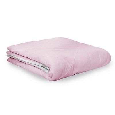 Edredom Berço/Mini Cama Moderninhos Xadrez rosa