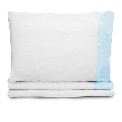 Jogo de lençol Moderninhos Solteiro 3 Peças Blue