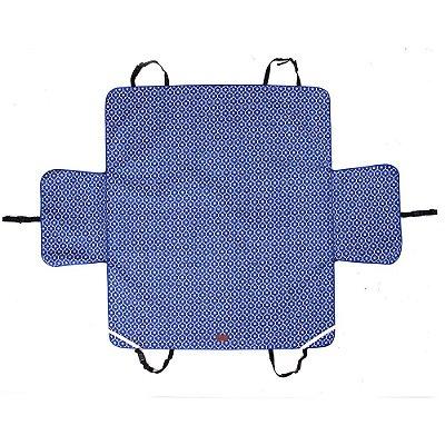 Capa Protetora PET Para Carro Dobravel Impermeável Azul