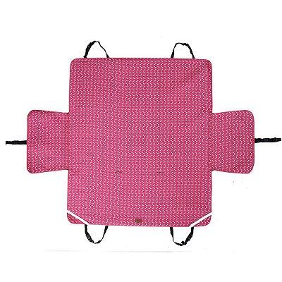 Capa Protetora PET Para Carro Dobravel Impermeável Rosa