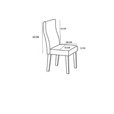 Kit 4 Capas Para Cadeira Estampada Protetora Varias Estampas