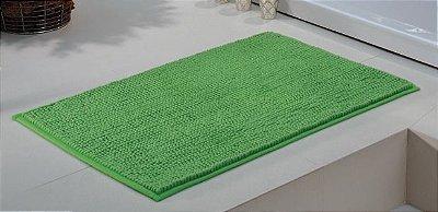 Tapete Para Banheiro 45cm x 70cm Smooth Verde