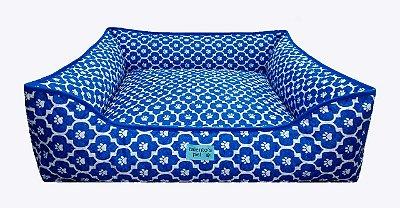 Caminha 100% Impermeavel Cachorro Gato Media 60x60 Azul