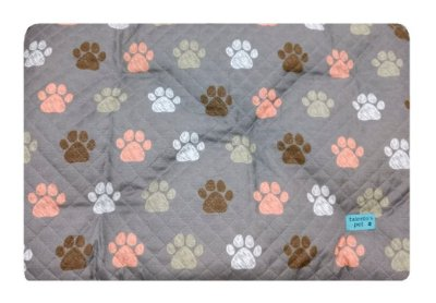 Colchonete Impermeável Caes e Gatos Pequeno 0,65x0,45 Cinza