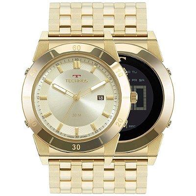 Relógio Masculino Technos 1S13CQ4X Analógico e Digital