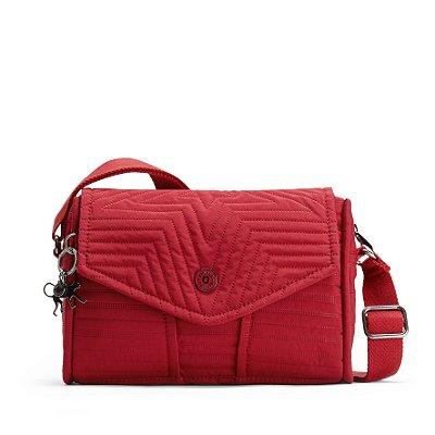 Bolsa Kipling Ready Now s - Vermelha