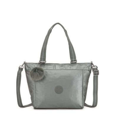Bolsa Kipling New Shopper s - Prata
