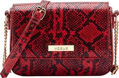 Bolsa Vogue Tiracolo Encaixe - Red Snake