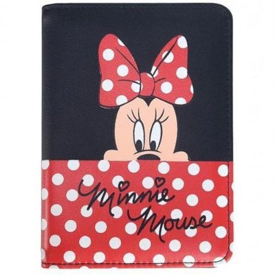 Porta Passaporte Disney Minnie Mouse