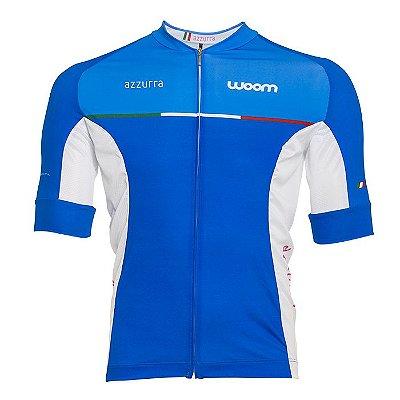 Camisa Bike Woom Supreme Azzurra