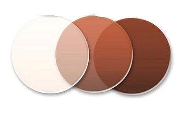 Lente solar | Degradê marrom - tratamento