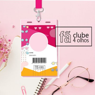 Fã clube 4 olhos  - plano pink