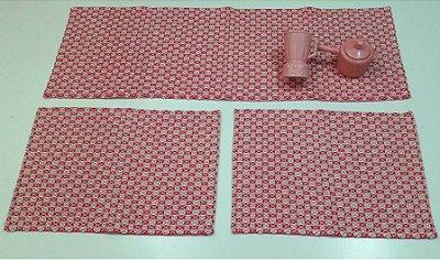 Kit de Passadeira Marrocos Pink