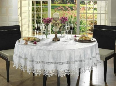 Toalha de Banquete Redonda Lese 2,20 m