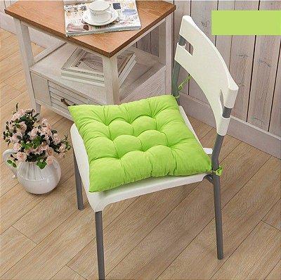 Assento de Cadeira Futon Verde