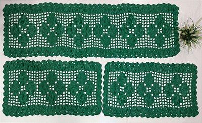 Kit de Passadeira Color Verde