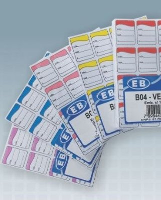 Etiqueta de Identificação B04
