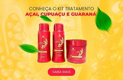 Açai, cupuaçu e guarana