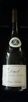 Duet - vinho branco - Corte  (Chardonnay / Viognier)