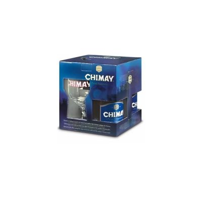 Kit Chimay Blue (3 garrafas + taça)