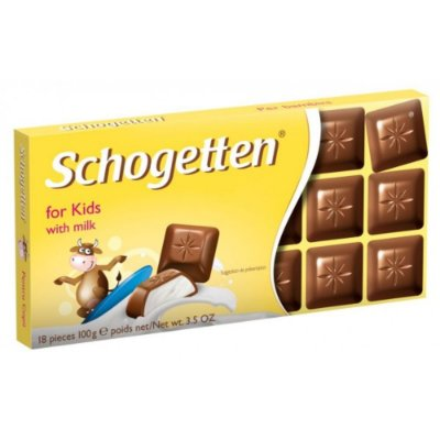Schogetten Chocolate For Kids 100g