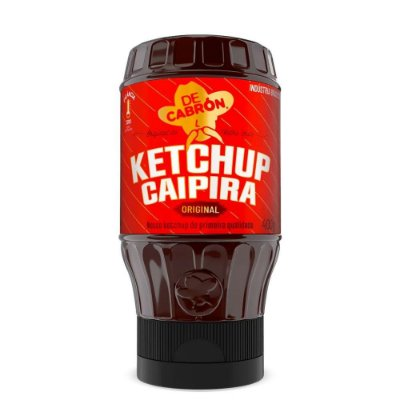 Ketchup Caipira Original De Cabron 400g