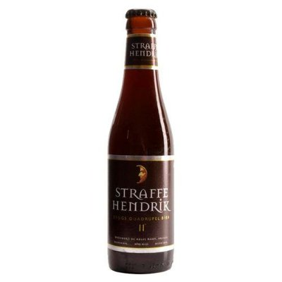 Straffe Hendrik Brugs Quadrupel Bier 11° 330ml
