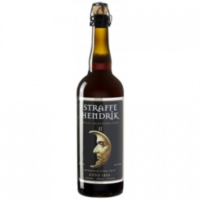 Straffe Hendrik Brugs Quadrupel Bier 11° 750ml