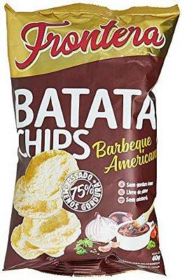 Batata Chips Barbecue Americano Frontera 40g