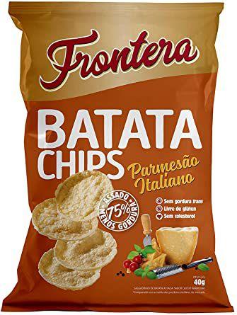 Batata Chips Parmesão Italiano Frontera 40g