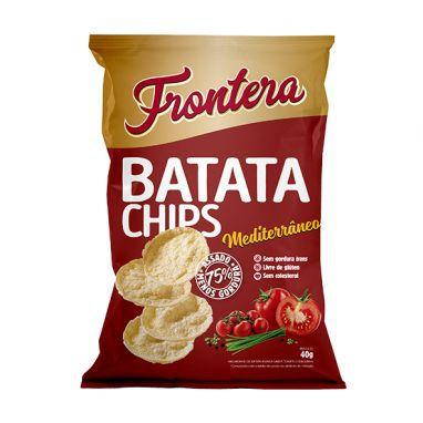 Batata Chips Mediterrâneo Frontera 40g