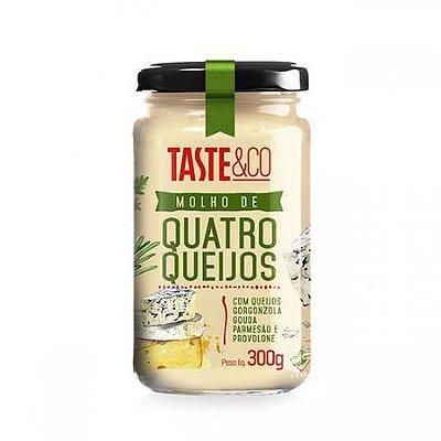 Molho Quatro Queijos Taste 300g