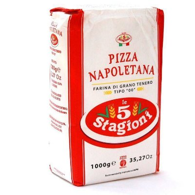Farinha de Trigo Italiana 00 Pizza Napoletana Le 5 Stagioni 1Kg