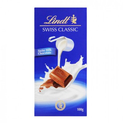 Chocolate Swiss Lindt Milk 100g