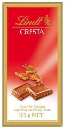 Chocolate Swiss Lindt Cresta 100g