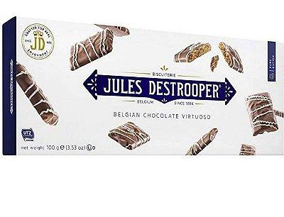 Biscoito Belga Jules Destrooper Chocolate Virtuoso 100g