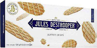 Biscoito Belga Jules Destrooper Butter Crisps 100g