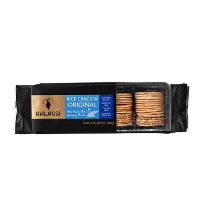 Snack Kalassi Salgado Rice Crackers Original 100g