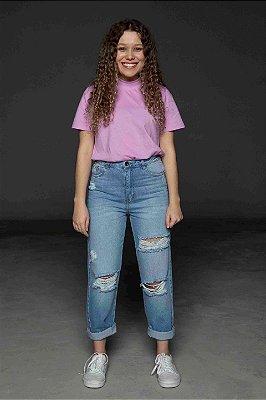 Calça jeans rasgado