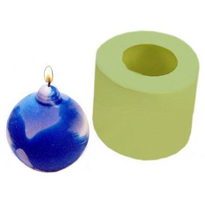 Molde de Silicone Bolinha Natal