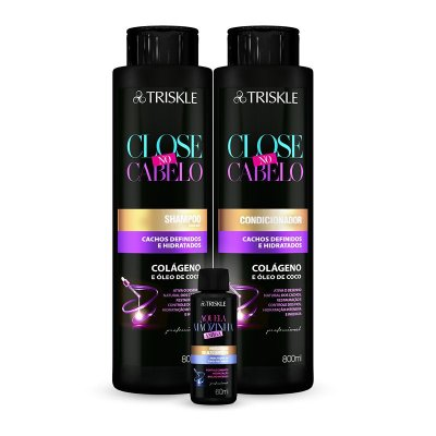 Kit Triskle Close no Cabelo 1600ml