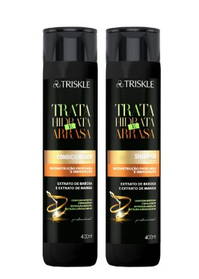 Kit Triskle Trata, Hidrata e Arrasa 800ML