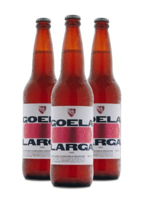 Goela Larga Lager • 3x 600ml