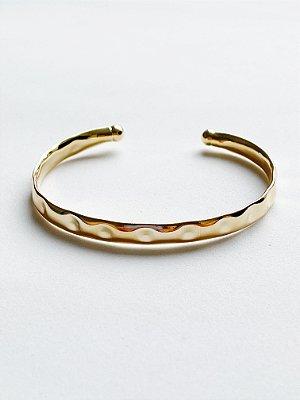 Bracelete Amassado - SEMIJOIA