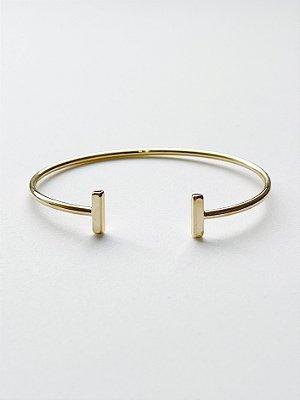 Bracelete Barras T - SEMIJOIA