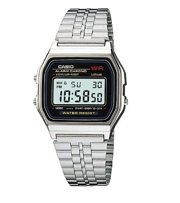 Relógio Casio Vintage Digital Prateado