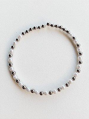 Bracelete Pérola Semijoia