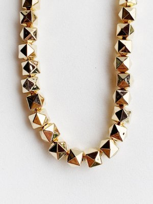 Colar Diamantado Semijoia