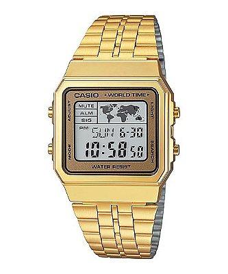 Relógio Casio Mundo Vintage Digital