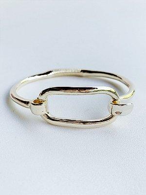 Bracelete Vazado Banhado